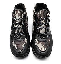 Черевики ботинки зимові чоловічі камуфляж, фото 3