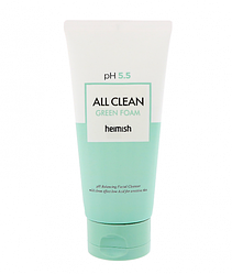 Очищающая пенка для лица Heimish All Clean Green foam