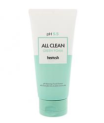 Очищуюча пінка для обличчя Heimish All Clean Green foam