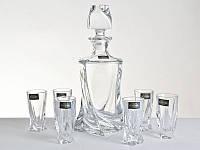 Набор для водки Bohemia Quadro 7 предметов