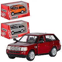 Kinsmart Металлическая инерционная машина Range Rover Sport Серебристая, Бордовая, Оранжевая