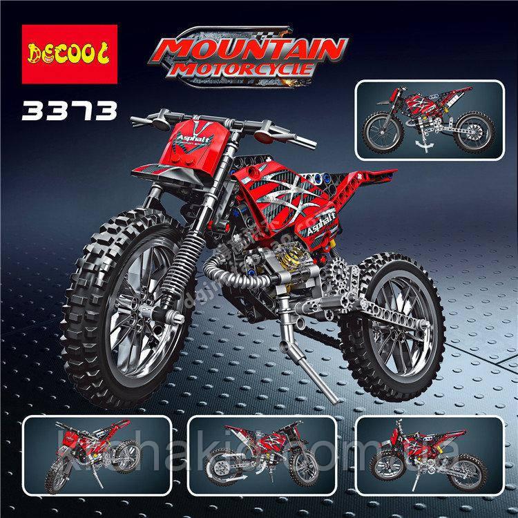 """Конструктор Decool 3373 """"Мотоцикл"""", 253 дет"""