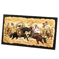 Панно настенное Veronese Всадники 42 см 77472А1, фото 1