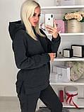 Женский утепленный спортивный костюм / трехнитка с начесом / Украина 44-0178, фото 3
