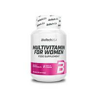 Витамины и минералы BioTech Multivitamin for Women, 60 таблеток