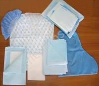 Комплект одежды для кесарева сечения № 1 стерильный одноразовый