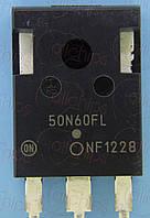 IGBT NPN 600В 50А 0.6мОм ONS NGTB50N60FLWG TO247