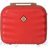Комплект чемодан и кейс Bonro Next большой бордовый (10066904), фото 6