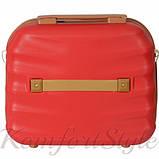 Комплект чемодан и кейс Bonro Next большой бордовый (10066904), фото 7