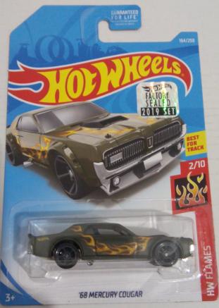 Машинка Hot Wheels 2019 '68 Mercury Cougar