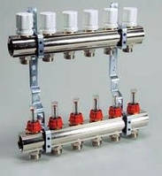 """""""Luxor"""" Коллекторная группа с расходомерами и термо клапанами М30х1,5 KG,R,T3"""