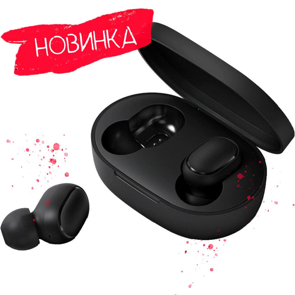 Навушники Xiaomi Redmi AirDots Black (ZBW4480GL)/ Наушники Xiaomi Redmi AirDots Black
