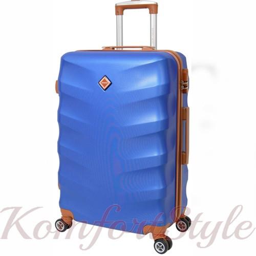Дорожный чемодан на колесах Bonro Next большой синий (10063801)