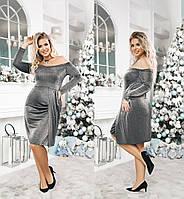 Нарядное женское платье ТК/-6017 - Черный, фото 1