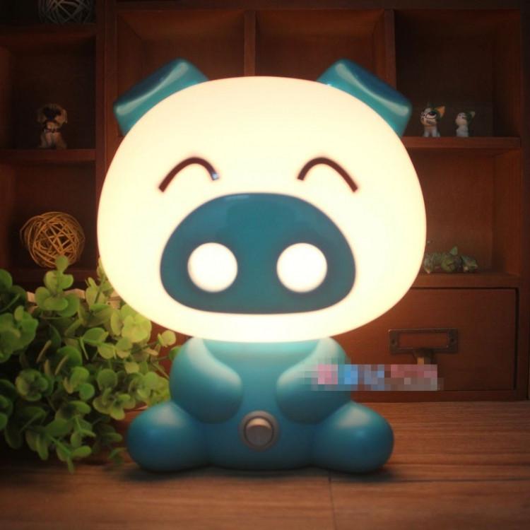 Светильник ночник Свинка Blue - R152812