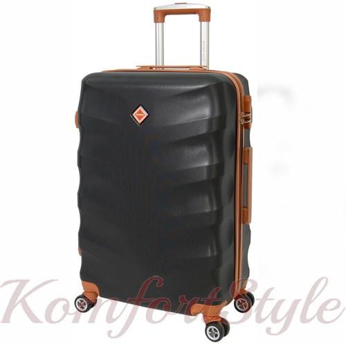Дорожный чемодан на колесах Bonro Next большой черный (10063800)