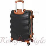 Дорожный чемодан на колесах Bonro Next большой черный (10063800), фото 2