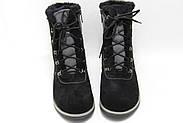 Чорні зимові черевики Renzoni R17, фото 3