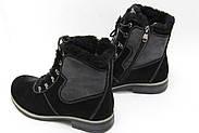 Чорні зимові черевики Renzoni R17, фото 2