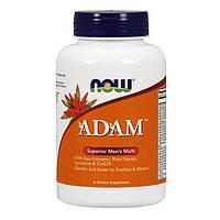 Витамины и минералы NOW Adam, 90 вегакапсул