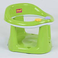Детское сиденье для купания Bimbo на присосках, салатовое - 179853
