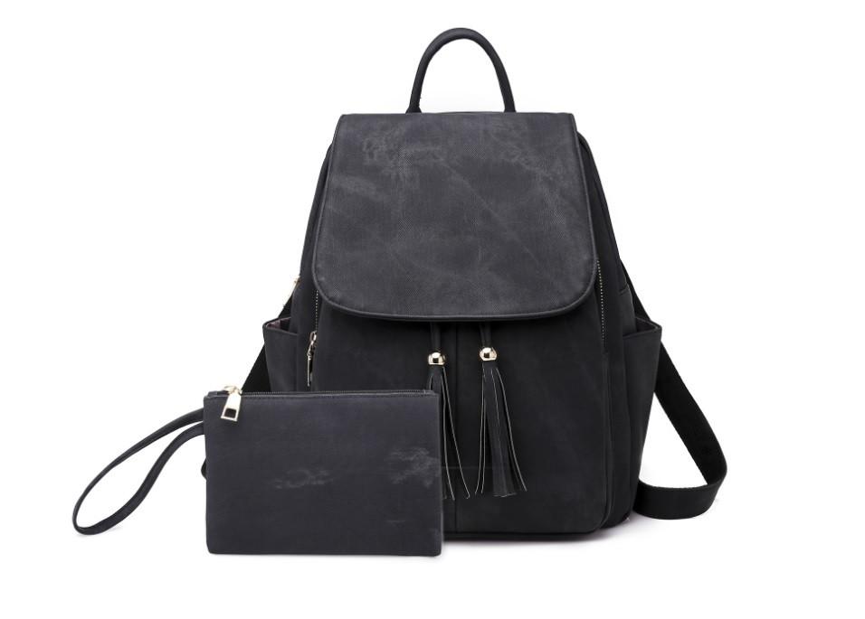 Женский прочный рюкзак-сумка + кошелек