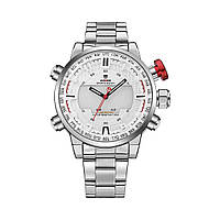 Часы Weide White WH6402-2C SS WH6402-2C, КОД: 116135