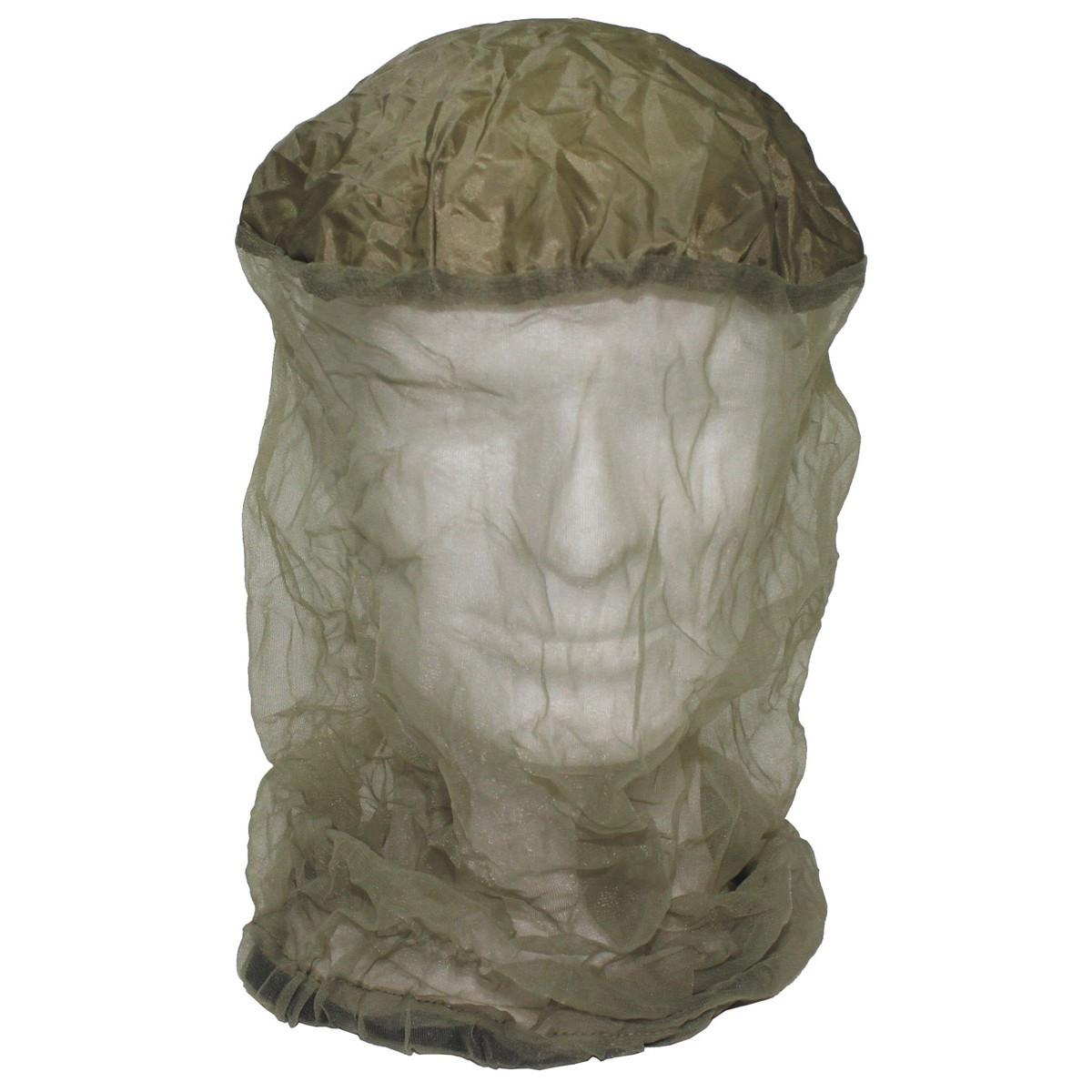 Компактная сетка от комаров на голову с резинкой и чехлом MFH