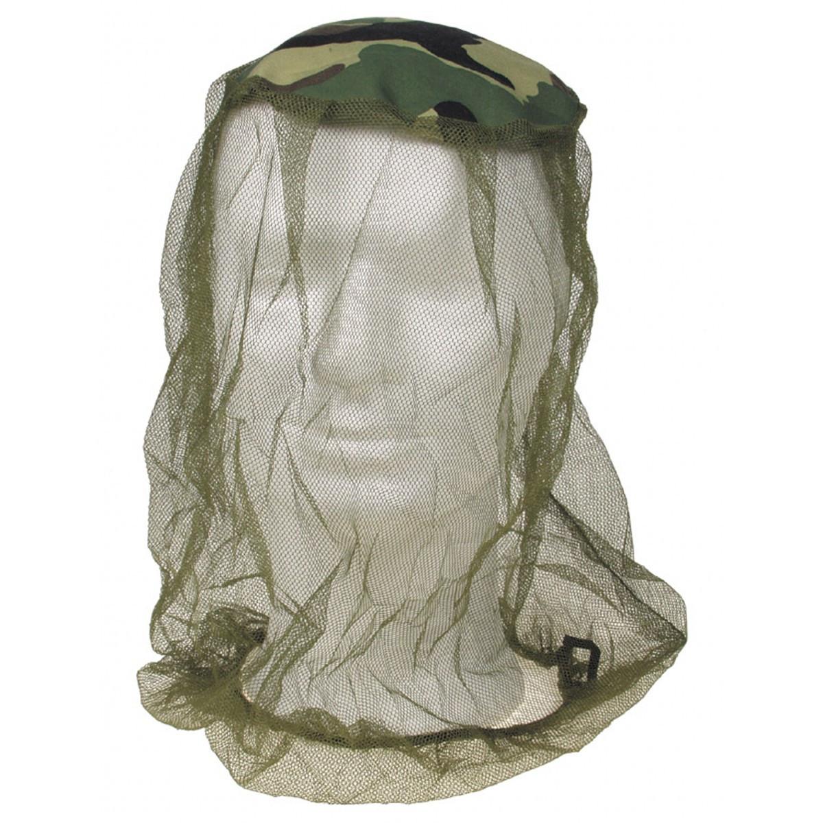 Сетка от комаров на голову MFH Mosquito Head Net