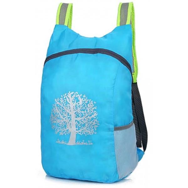 Компактный лёгкий рюкзак 15л синий