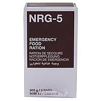 Экстренный пищевой рацион MSI NRG-5, 500 г (9 брикетов)