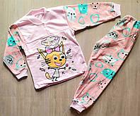 """Пижама детская с принтом на девочку 28-36 р  """"MARI"""" купить оптом в Одессе на 7 км"""