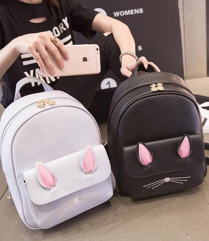 Детский женский рюкзак кролик