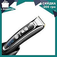 Профессиональная машинка для стрижки волос с регулировкой длины Gemei GM-800, фото 1