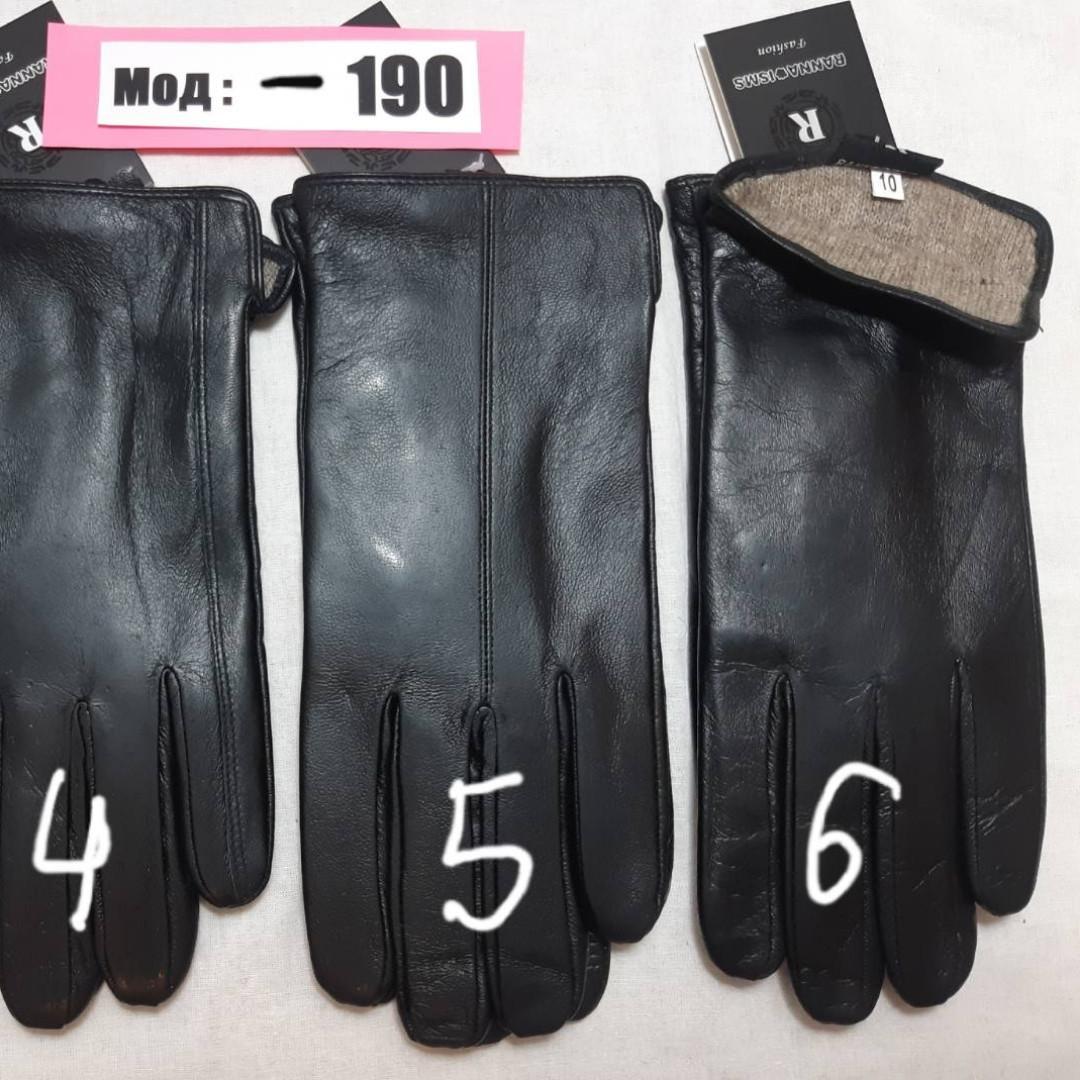 Кожа мужские перчатки смартфон внутри шерсть
