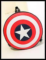 Супер рюкзак ЩИТ Капитана Америки. По низкой цене. Интернет магазин. Купить рюкзак.  Код: КСМ100