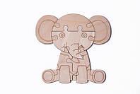 Конструктор для детей Wood Trick Пазл Слон (6 деталей)