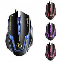 Игровая мышь с RGB подсветкой Apedra A9 Gaming mouse