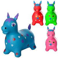 Прыгуны-лошадки, ПВХ, 4 цвета, MS0954