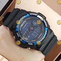 Часы Casio GA-200A Black/Blue