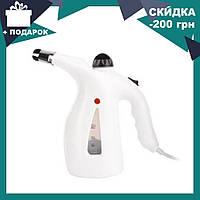 Паровой утюг RZ-608 | ручной отпариватель для одежды | пароочиститель | отпариватель с функцией паровой сауны, фото 1