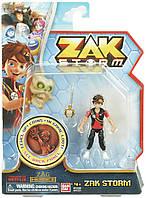 Фигурка Зак Шторм с мечом Bandai Zak Storm Figure with Coin
