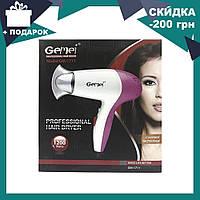 Профессиональный компактный фен для сушки волос Gemei GM 1711, фото 1