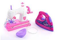 Детский набор утюг и швейная машинка 751 A