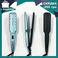 Утюжок для волос Kemei ZFQ-KM-9621 | выравниватель | выпрямитель | утюжок для выпрямления, фото 1