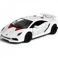 Kinsmart Металлическая инерционная машина Lamborghini Sesto Elemento