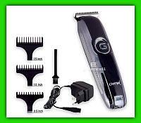 Мощная аккумуляторная машинка для стрижки волос Gemei GM-6050