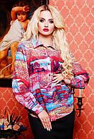 Яркая блуза в 5 цветах