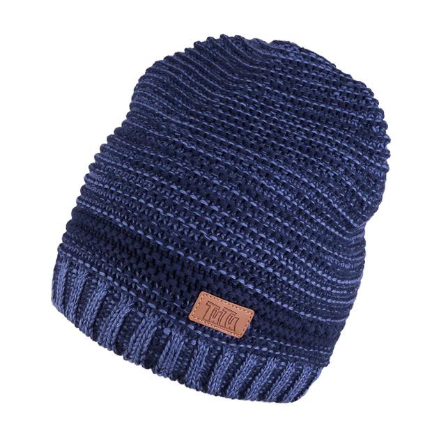Вязанные шапки для мальчиков