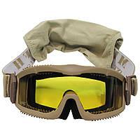 """Защитные очки с 2 сменными стёклами MFH """"Thunder deluxe"""""""
